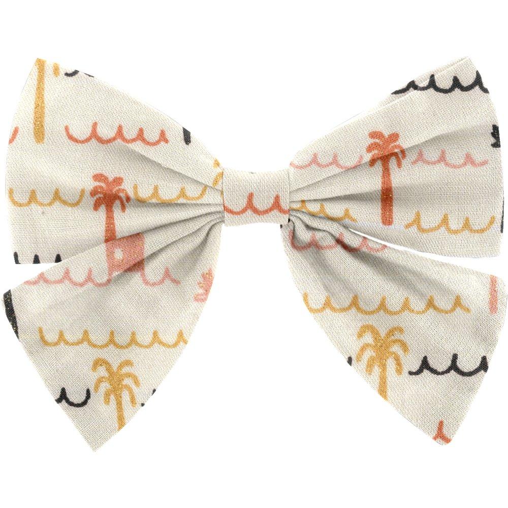 Bow tie hair slide   copa-cabana