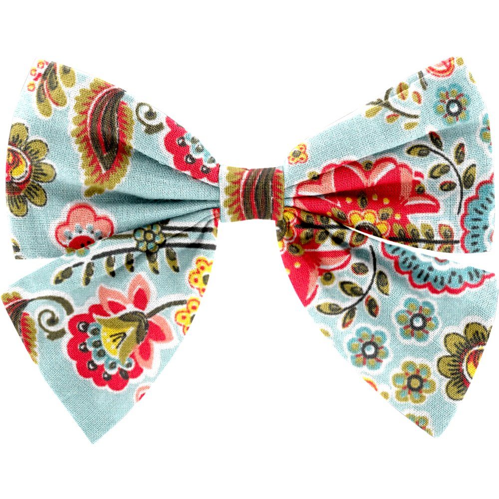 Bow tie hair slide  corolla