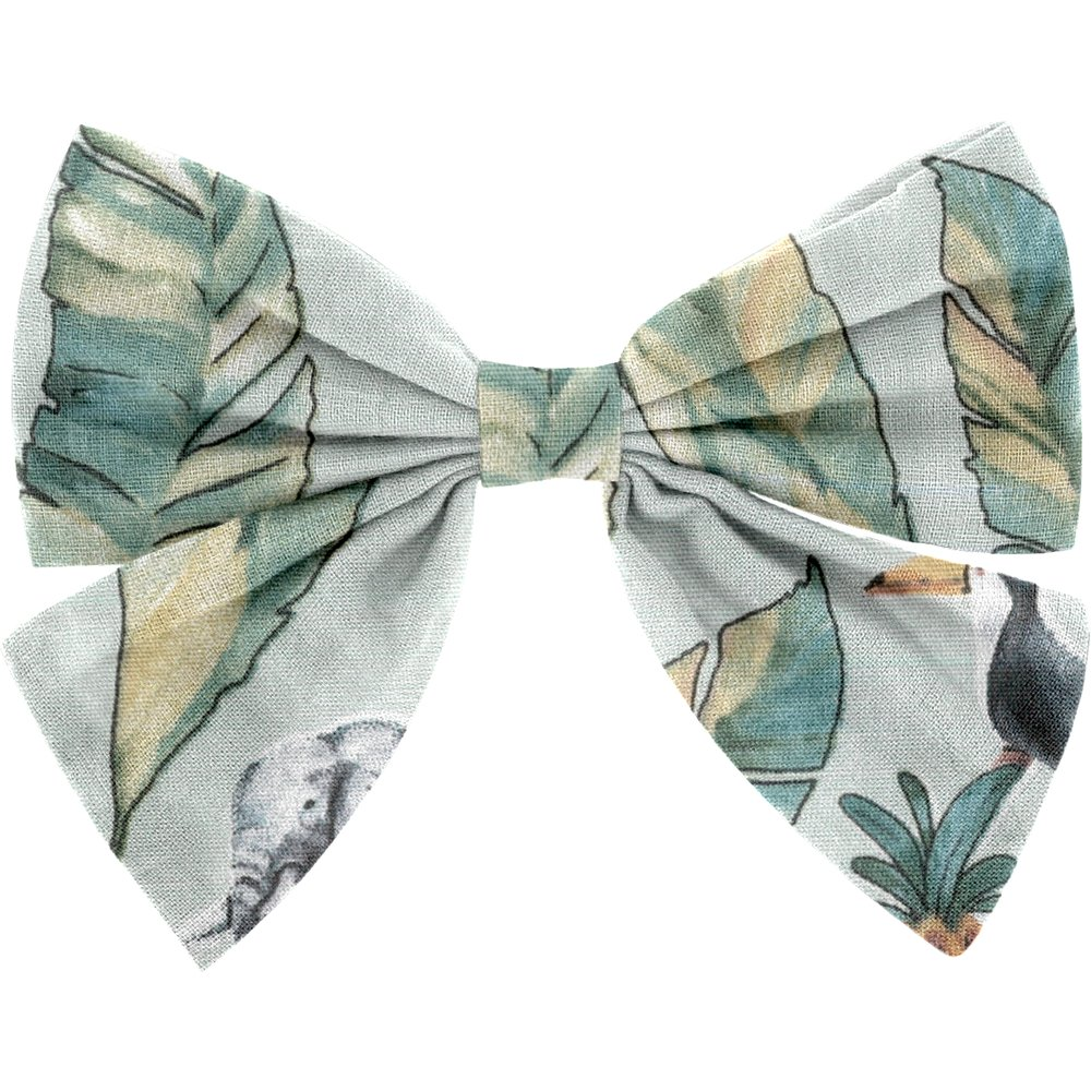 Bow tie hair slide paradizoo mint