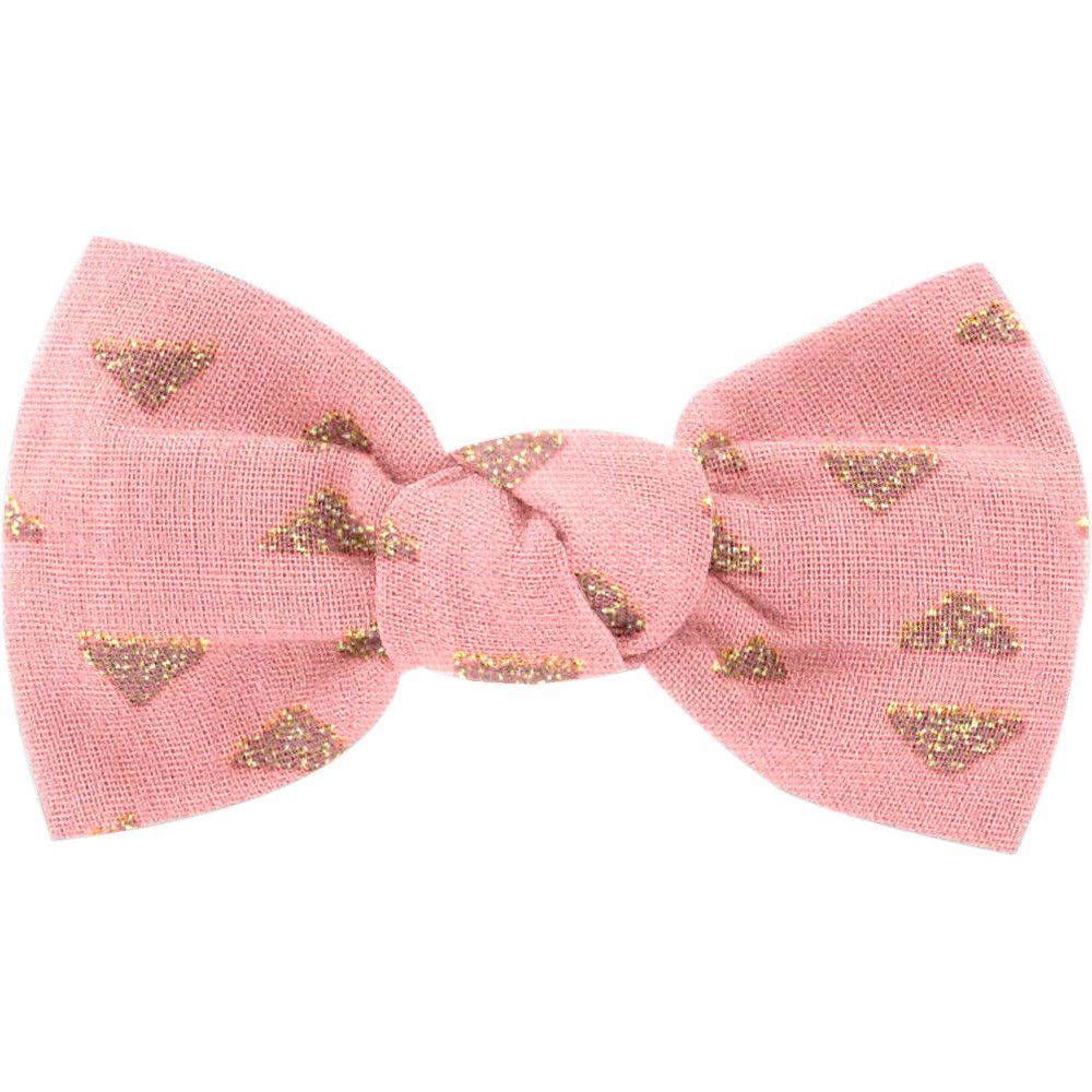 Small bow hair slide triangle or poudré