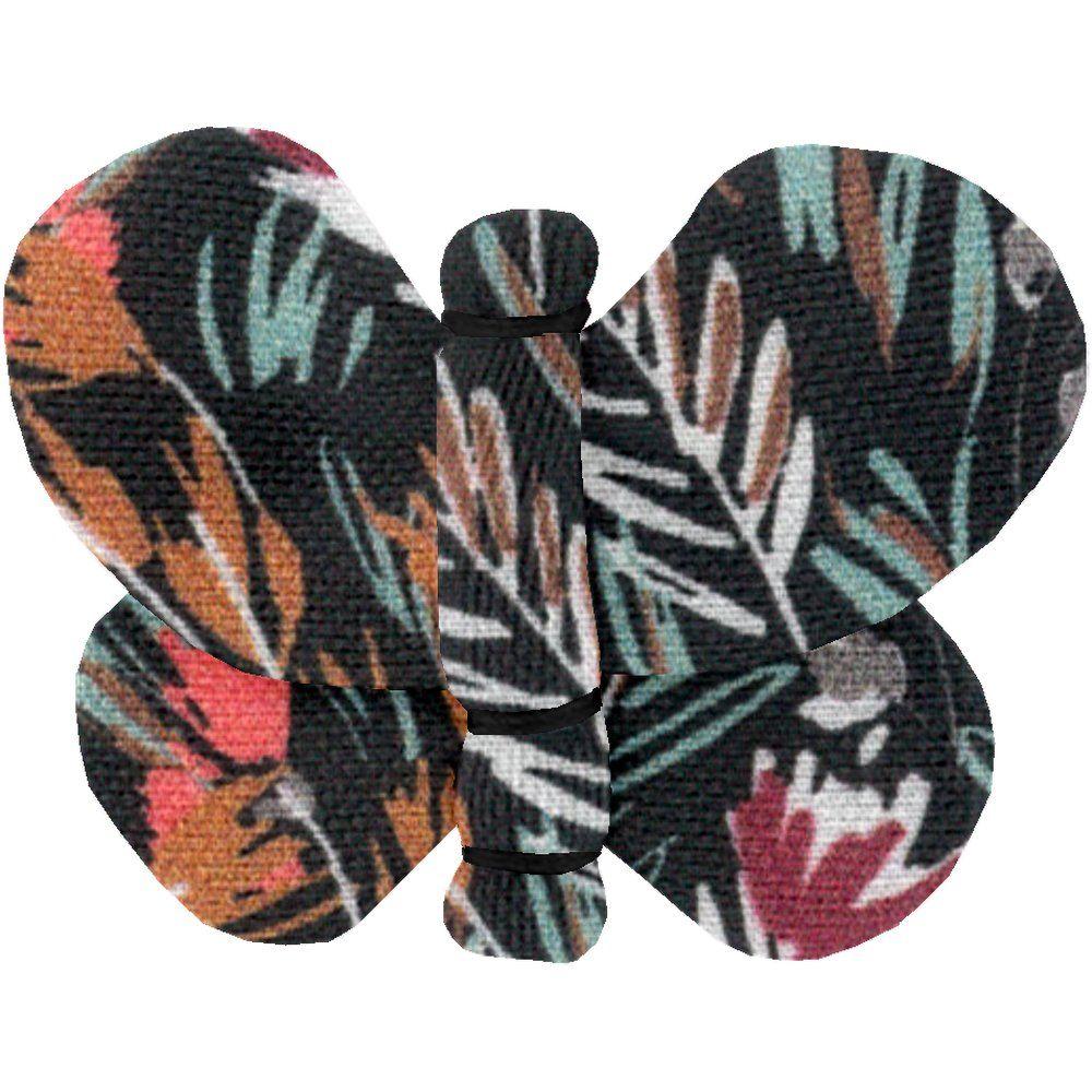 Barrette petit papillon  graminée