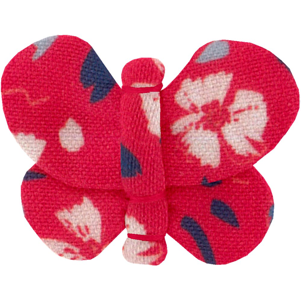 Barrette petit papillon hanami