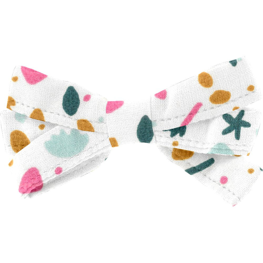 Ribbon bow hair slide sea side