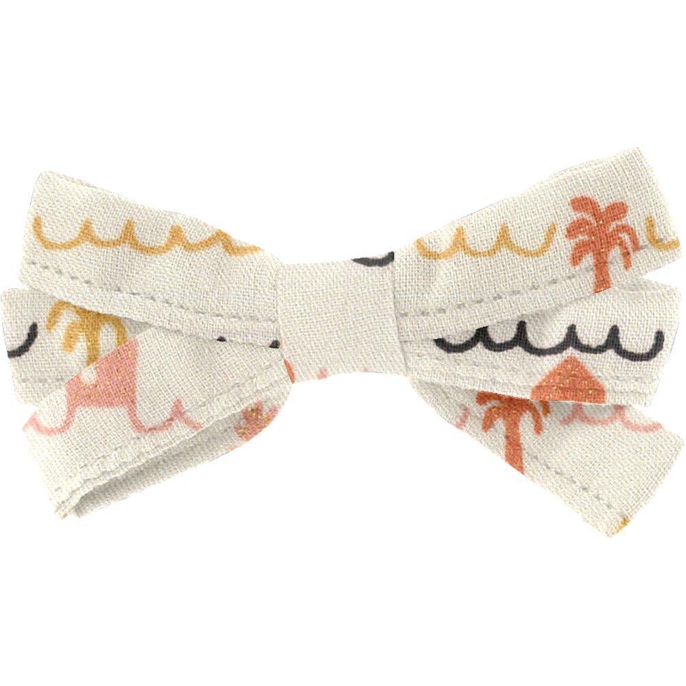Ribbon bow hair slide   copa-cabana