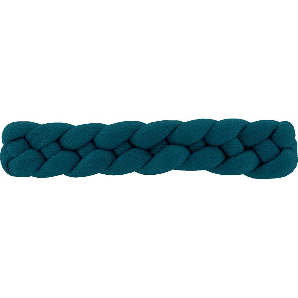 Plait hair slide bleu vert