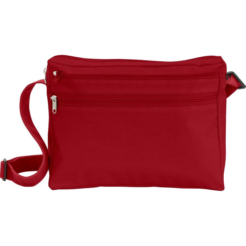 Base of satchel bag burgundy