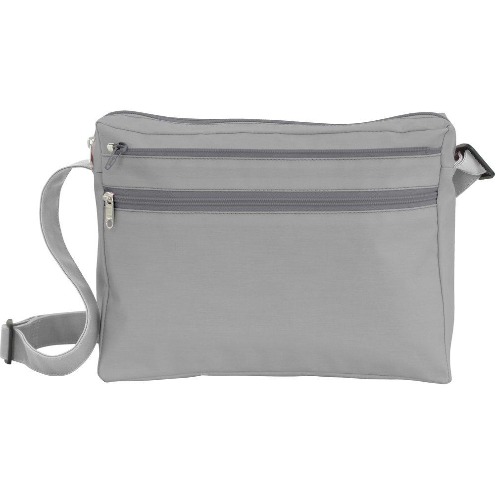 Base sac besace carrée gris