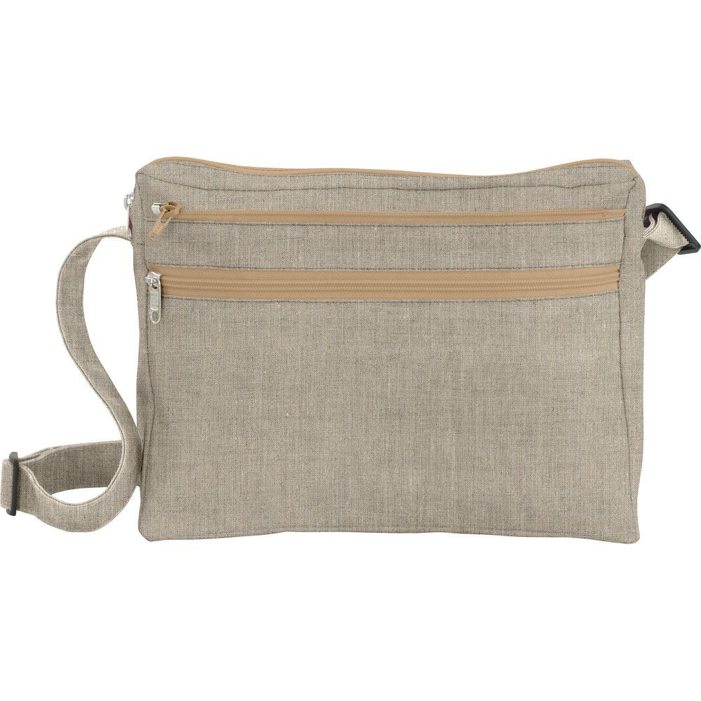 Base of satchel bag linen