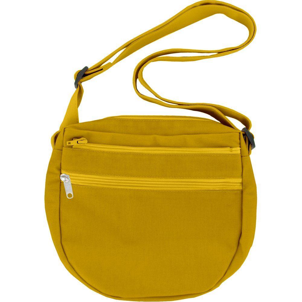 Base sac petite besace moutarde
