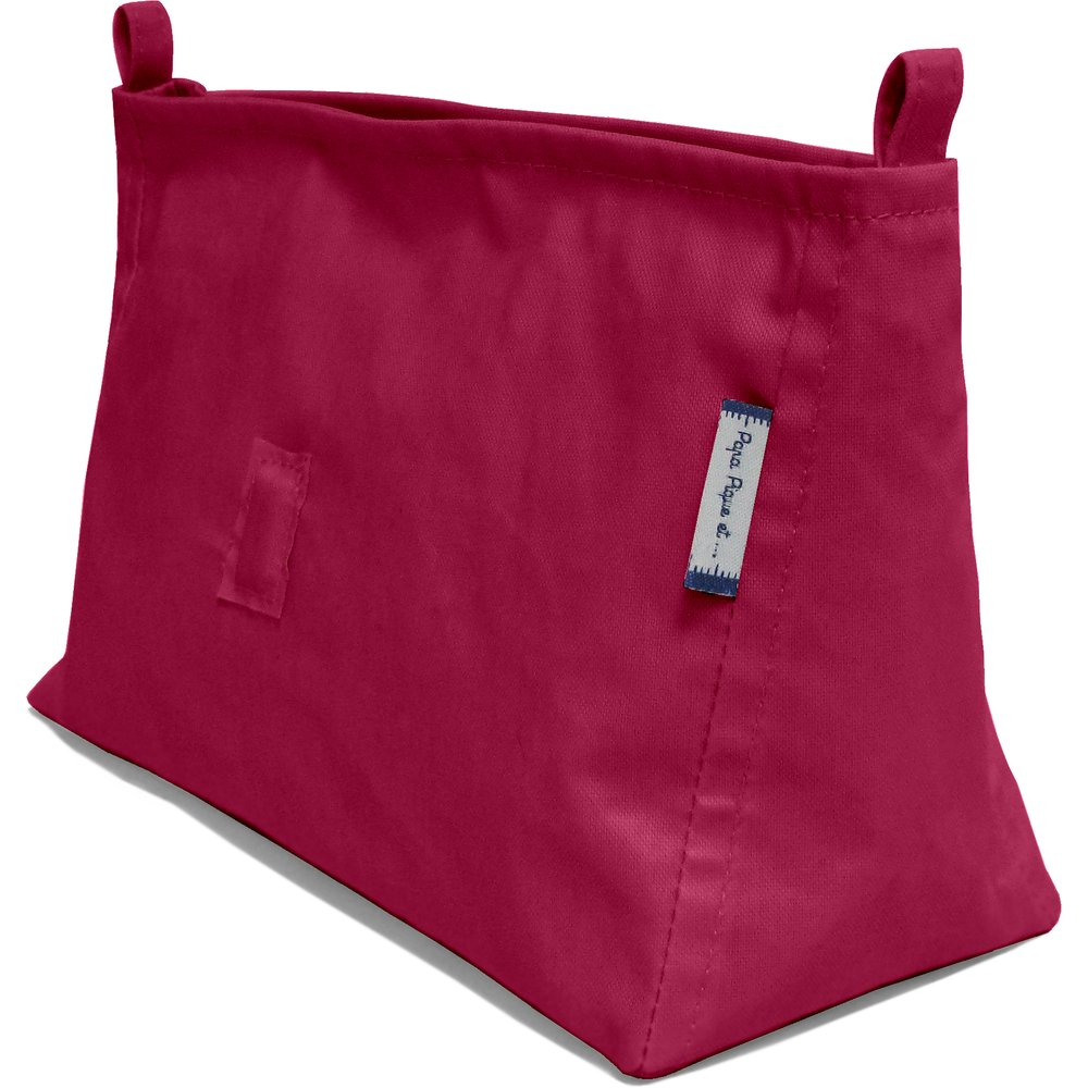 Base of shoulder bag burgundy