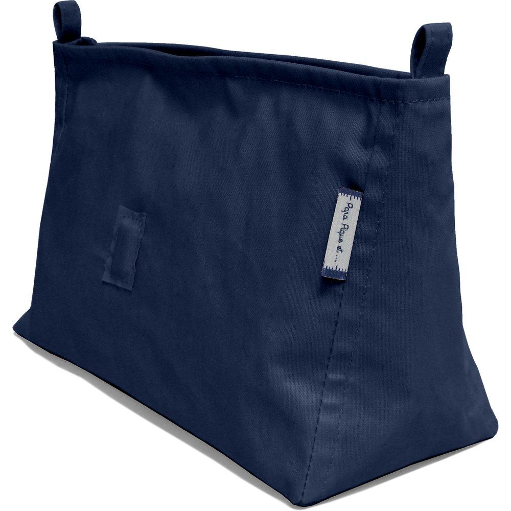 Base of shoulder bag navy blue