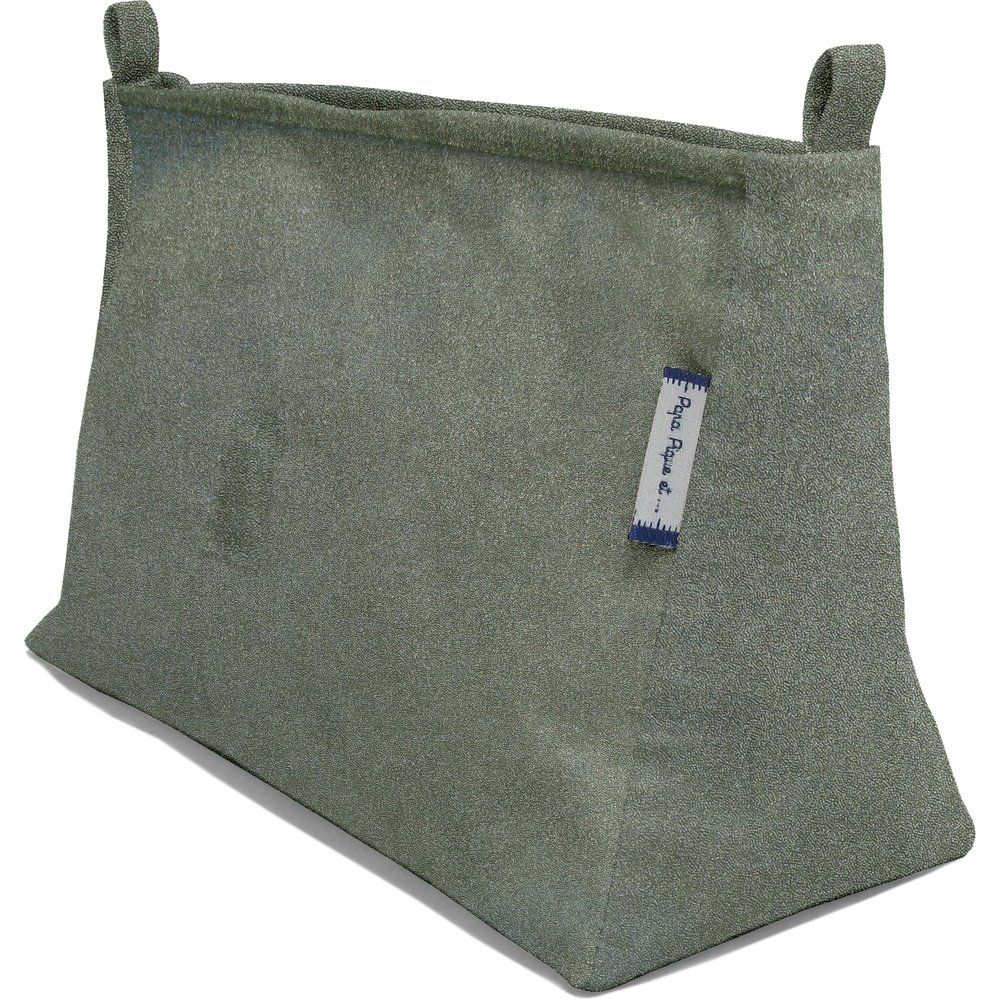 Base of shoulder bag suédine kaki