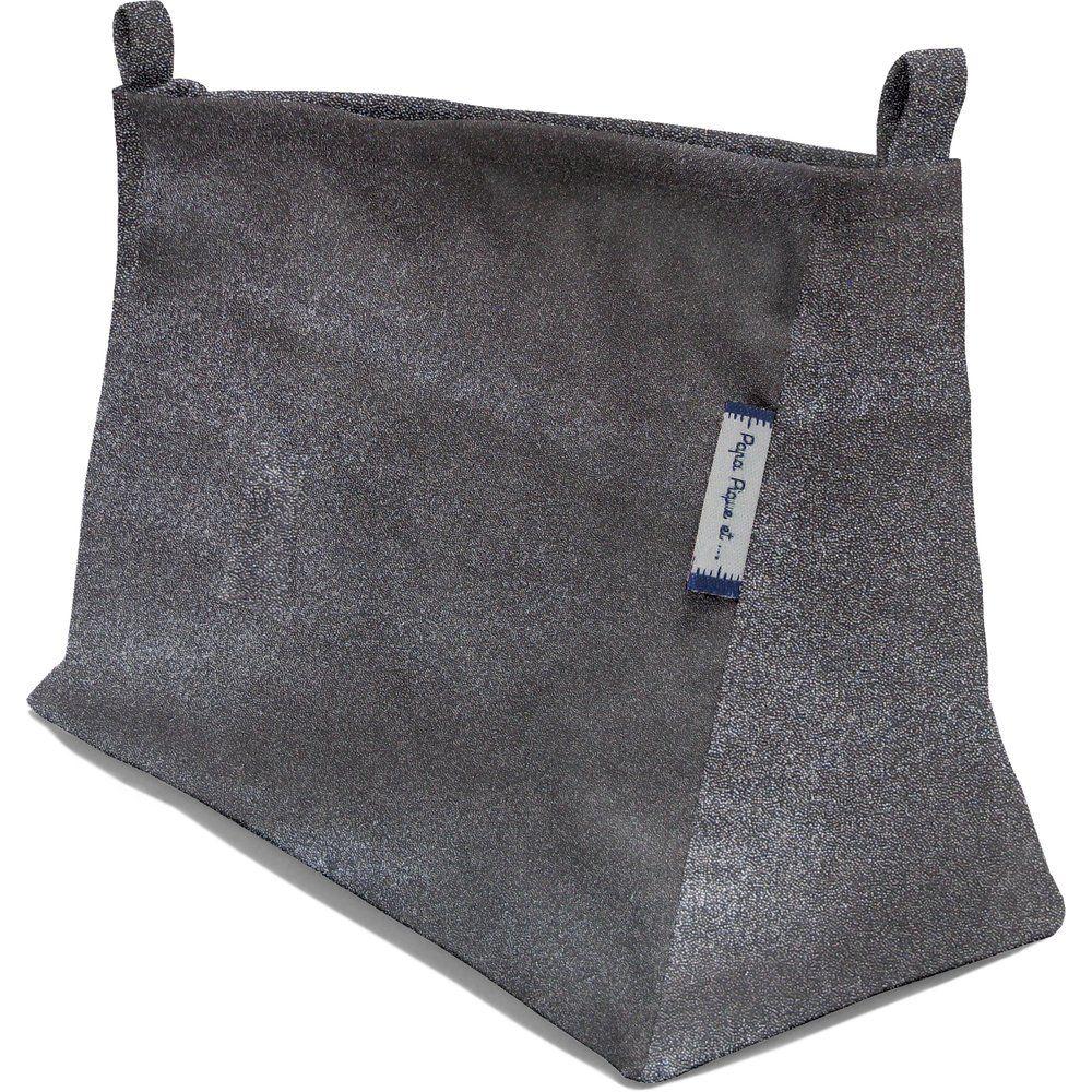 Base of shoulder bag suédine noire