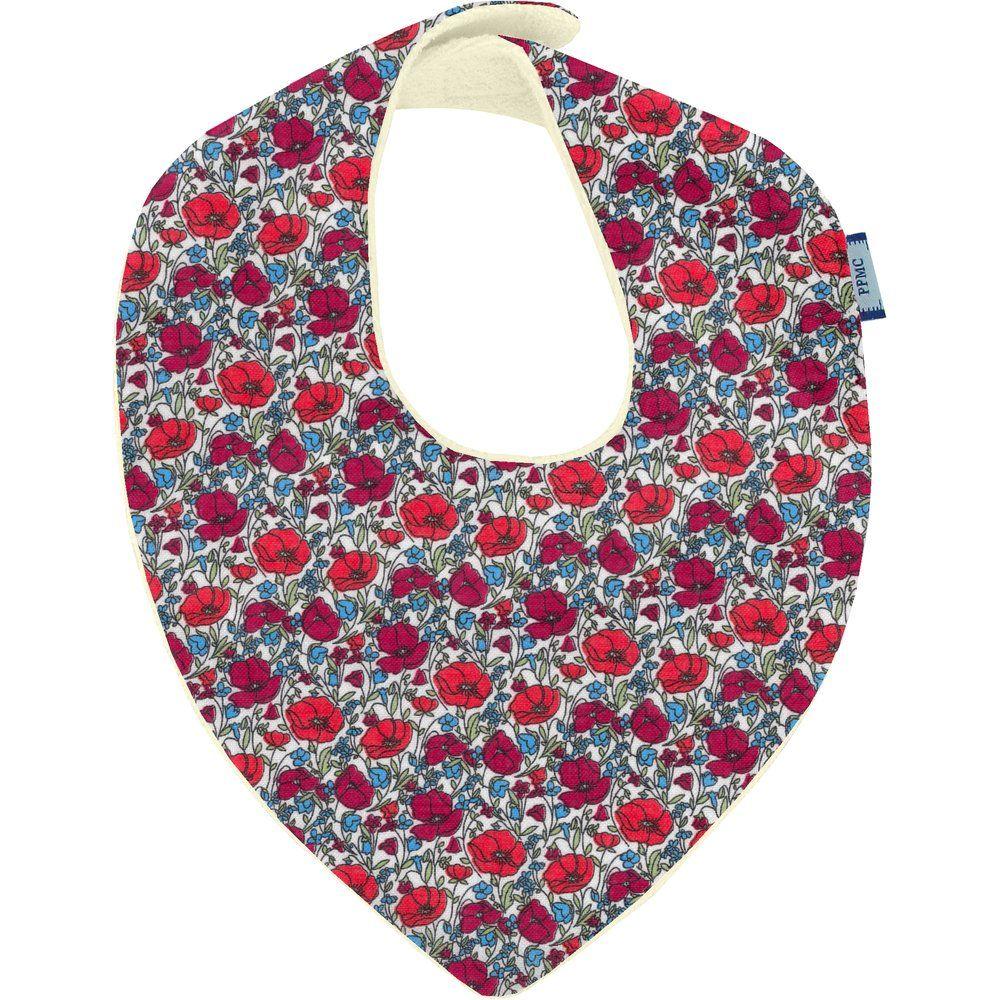 bandana bib poppy