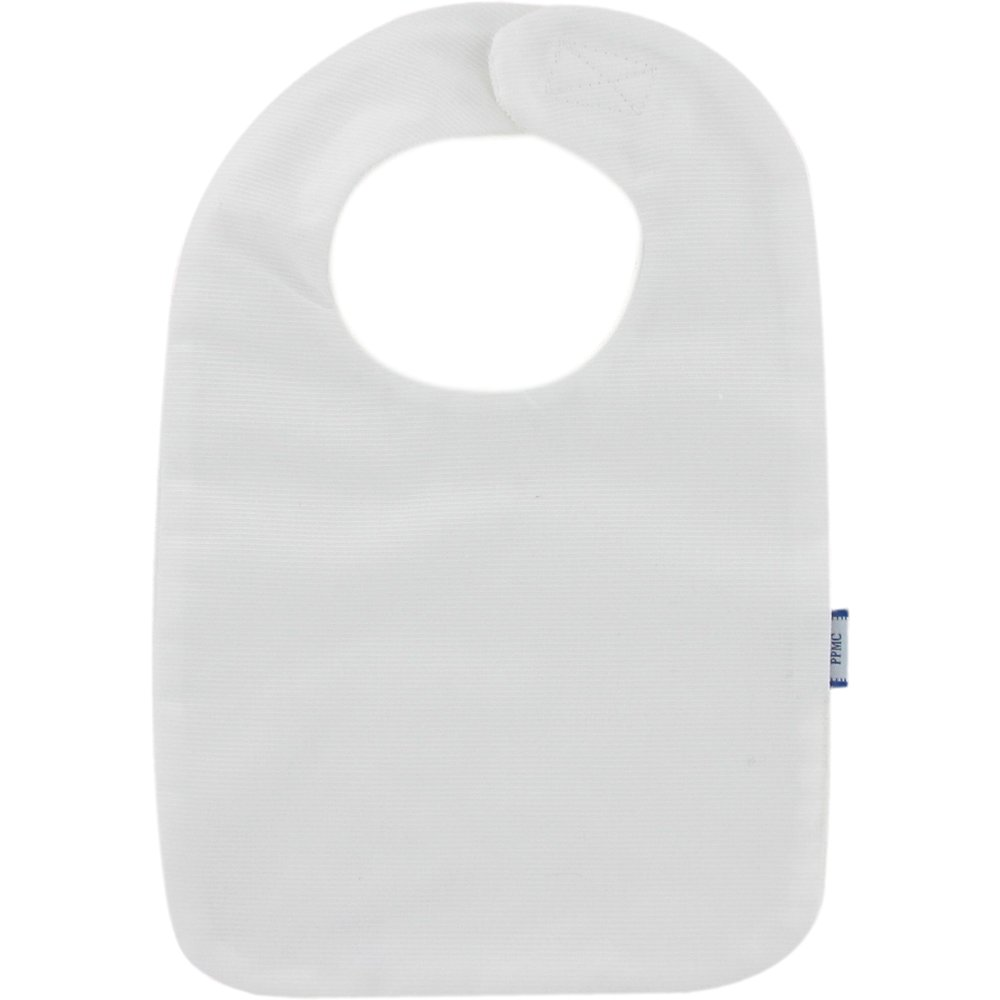 Bib - Baby size white