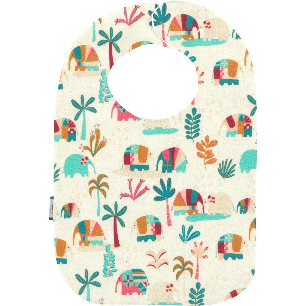 Bib - Baby size carnaval d'eléphants