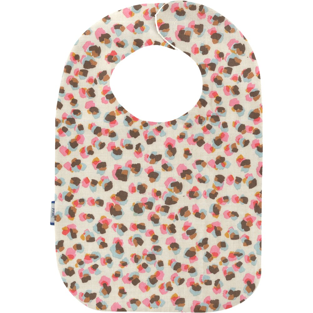 Bib - Baby size confetti aqua