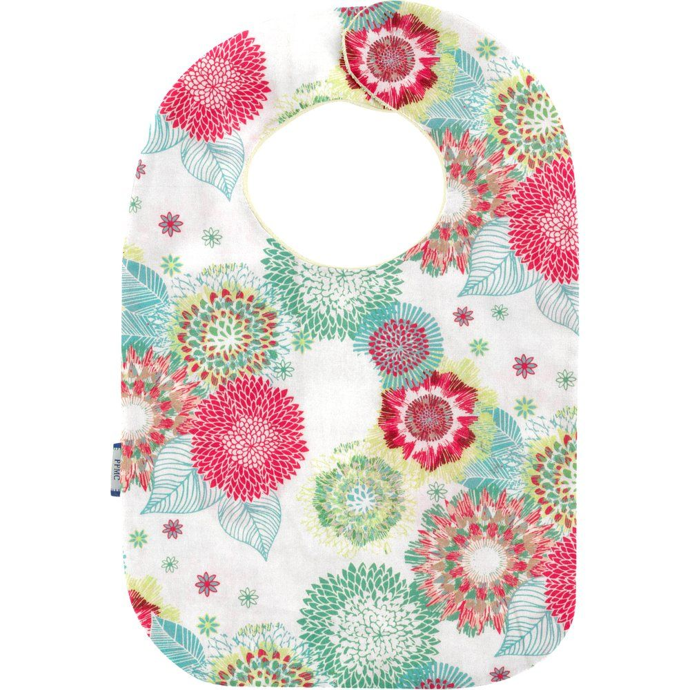 Bib - Baby size powdered  dahlia