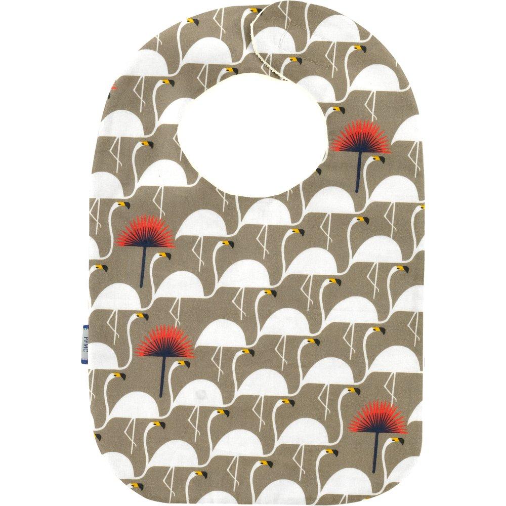 Bib - Baby size flamingo
