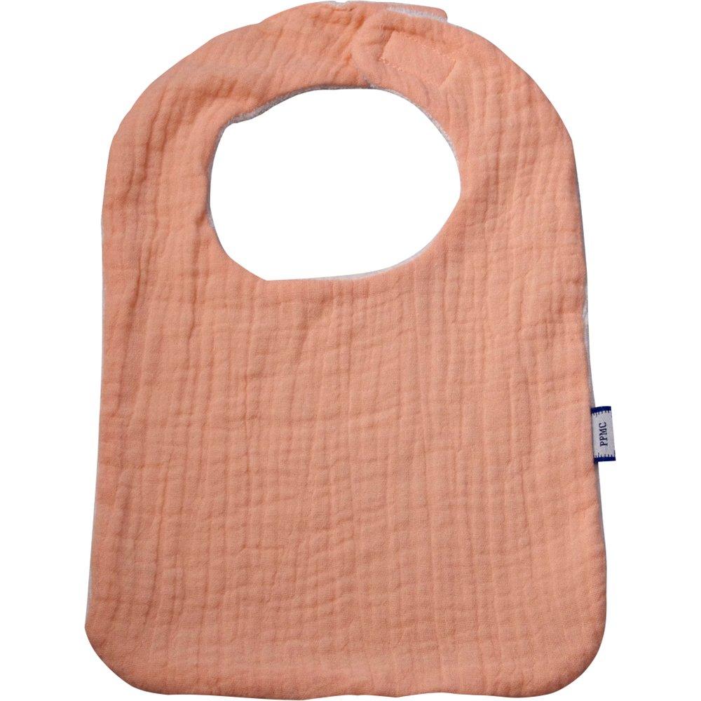 Bib - Baby size gauze pink