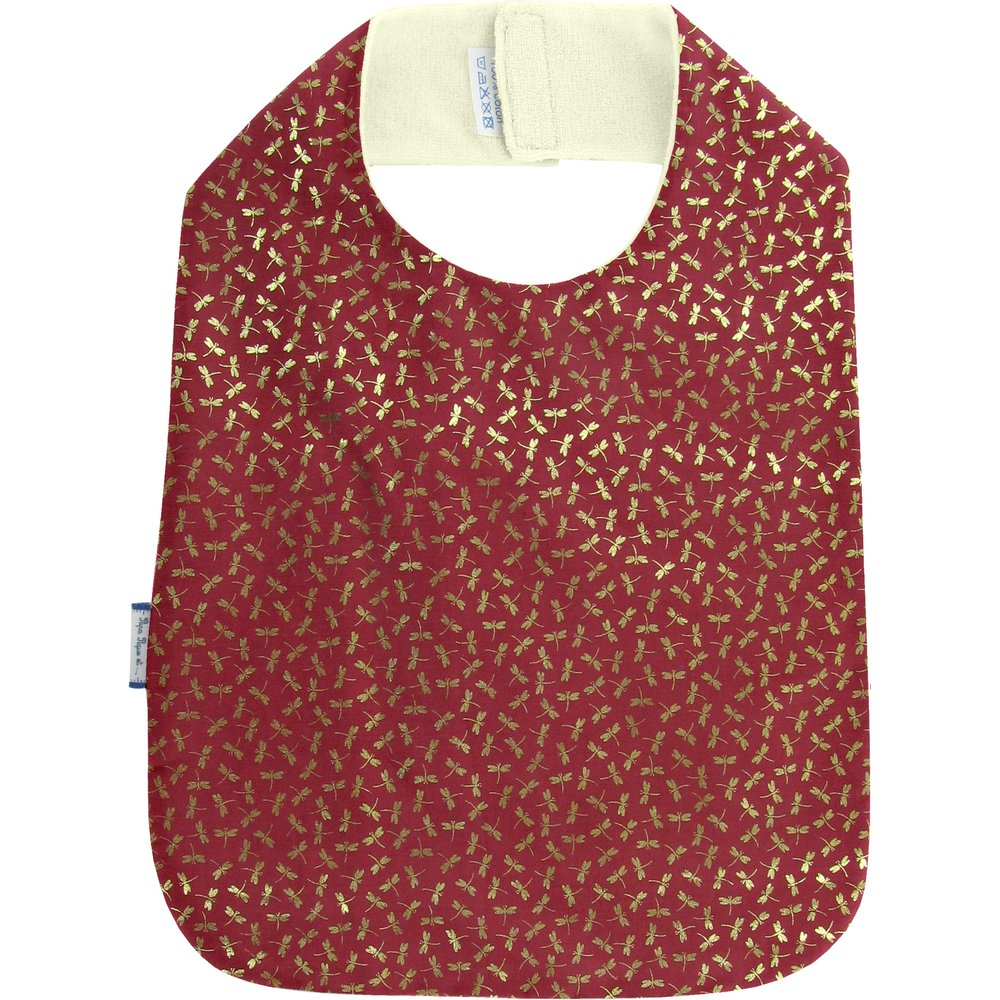 Bib - Child size ruby dragonfly