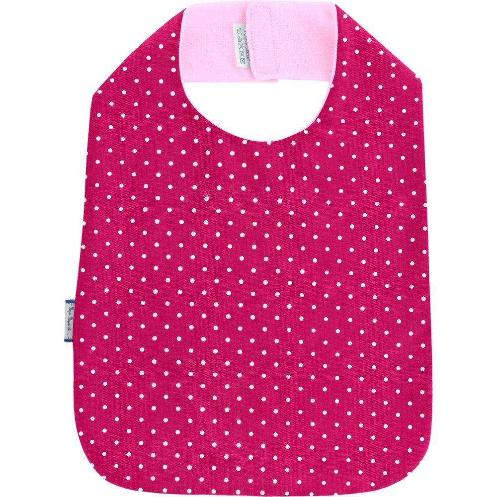 Bib - Child size fuschia spots