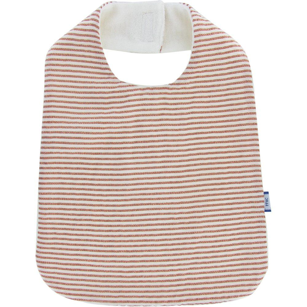 Bib - Child size copper stripe