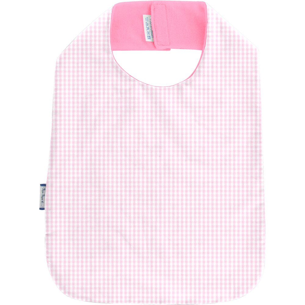 Bib - Child size pink gingham