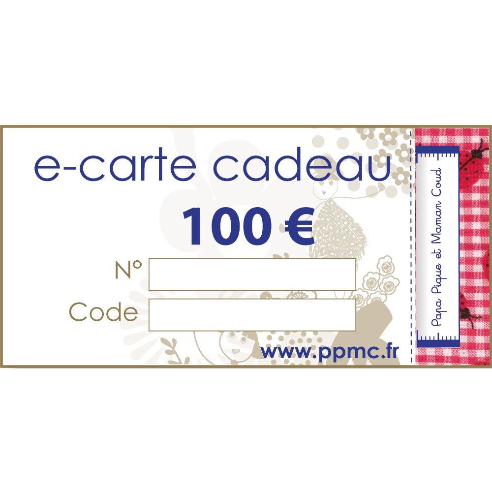 Carte cadeau 100,00 €