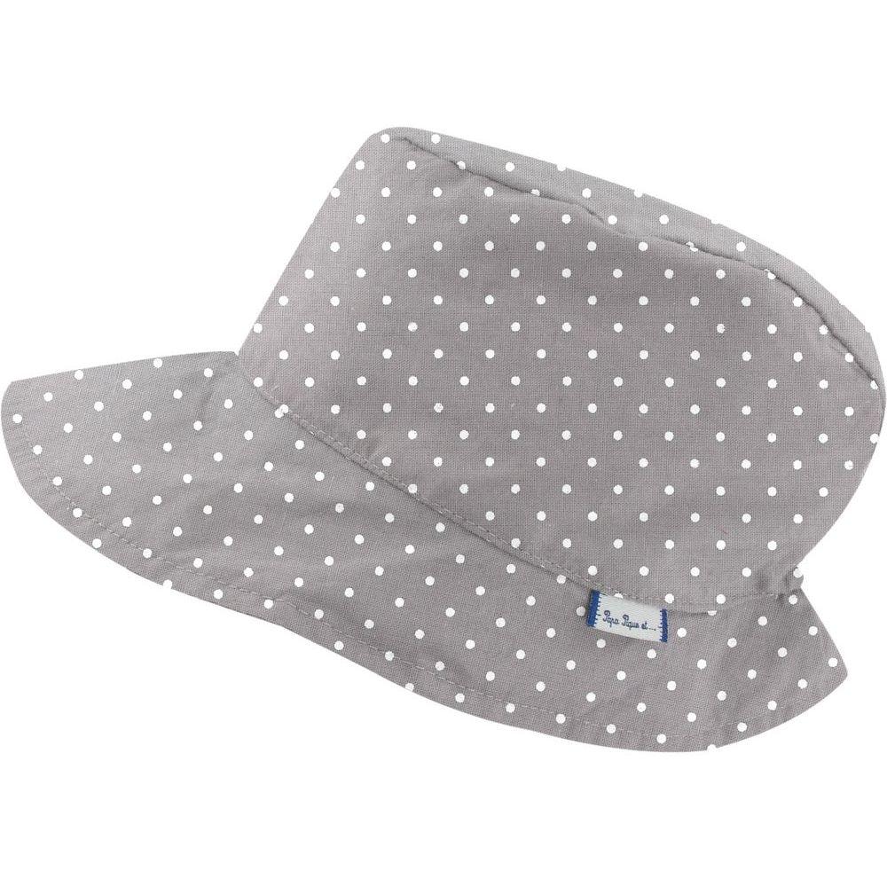 Cap - Size 2 light grey spots