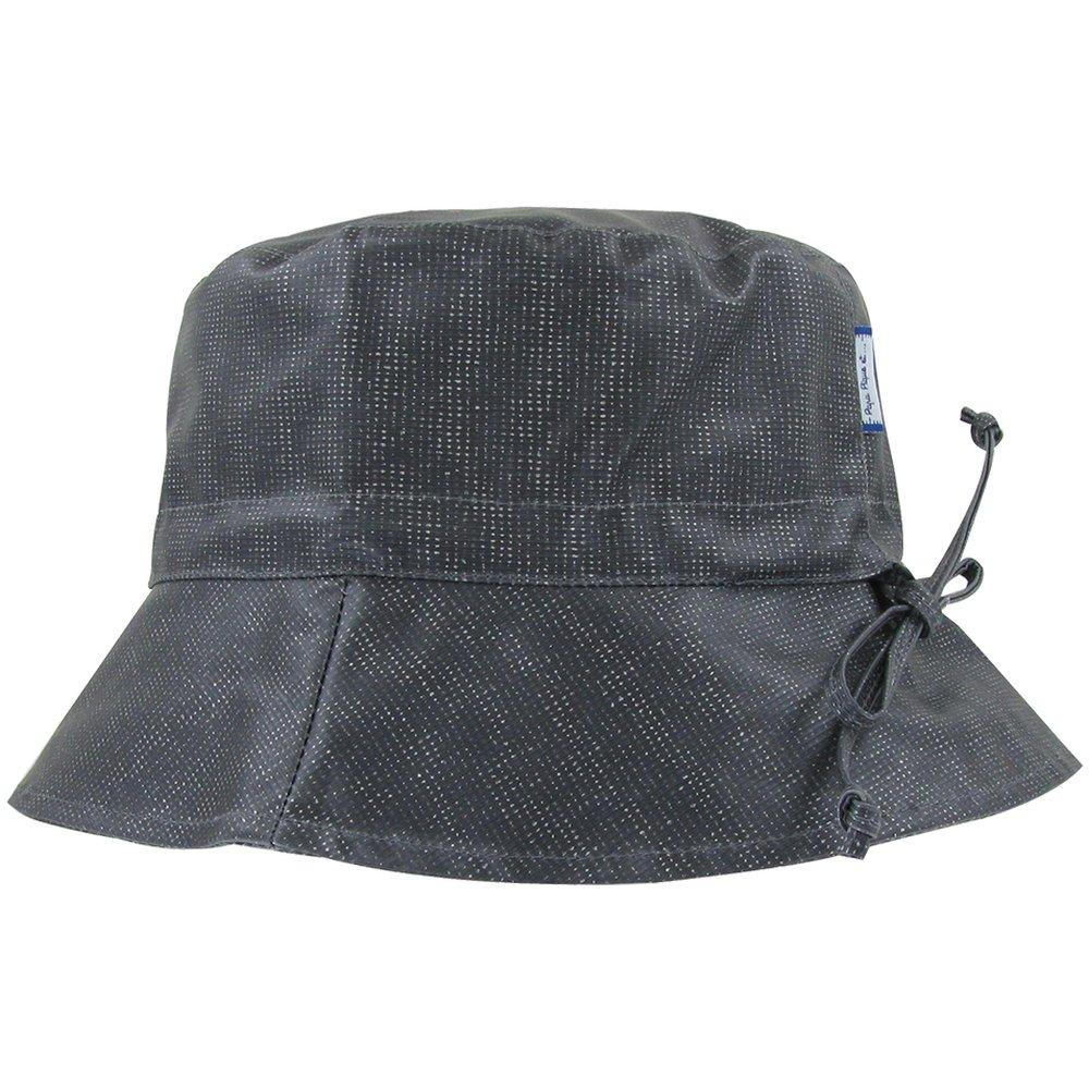 Rain hat adjustable-size 2  silver gray