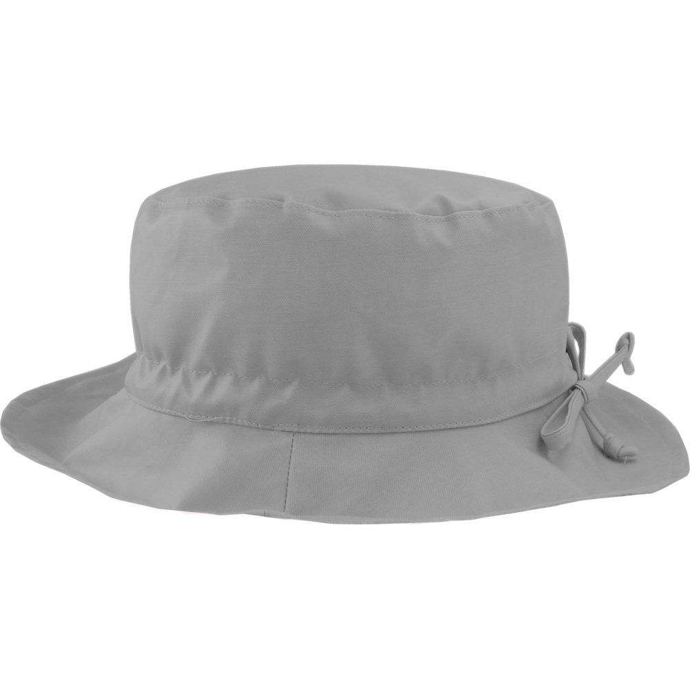 Rain hat adjustable-size 2  grey