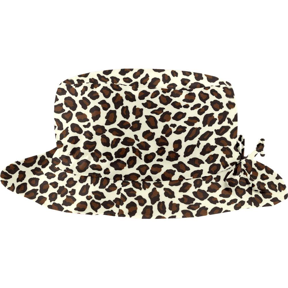 Rain hat adjustable-size 2  leopard print