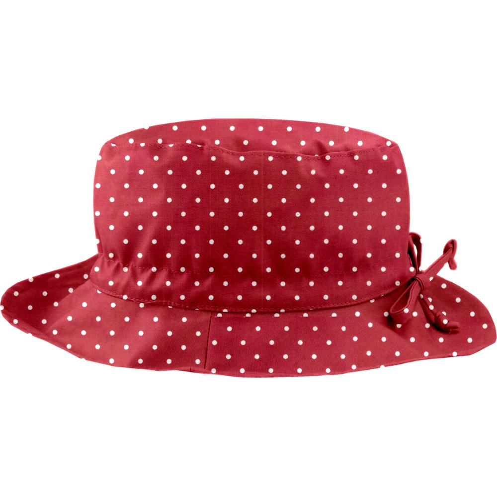 Rain hat adjustable-size 2  red spots
