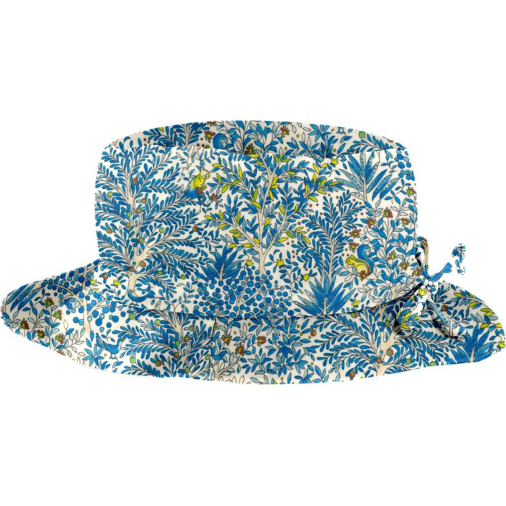 Chapeau pluie ajustable T3 forêt bleue