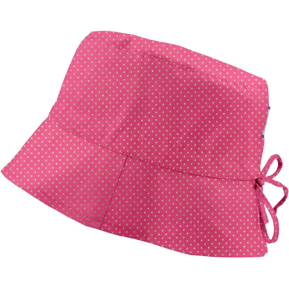 Chapeau de soleil ajustable T1 à T2 etoile or fuchsia