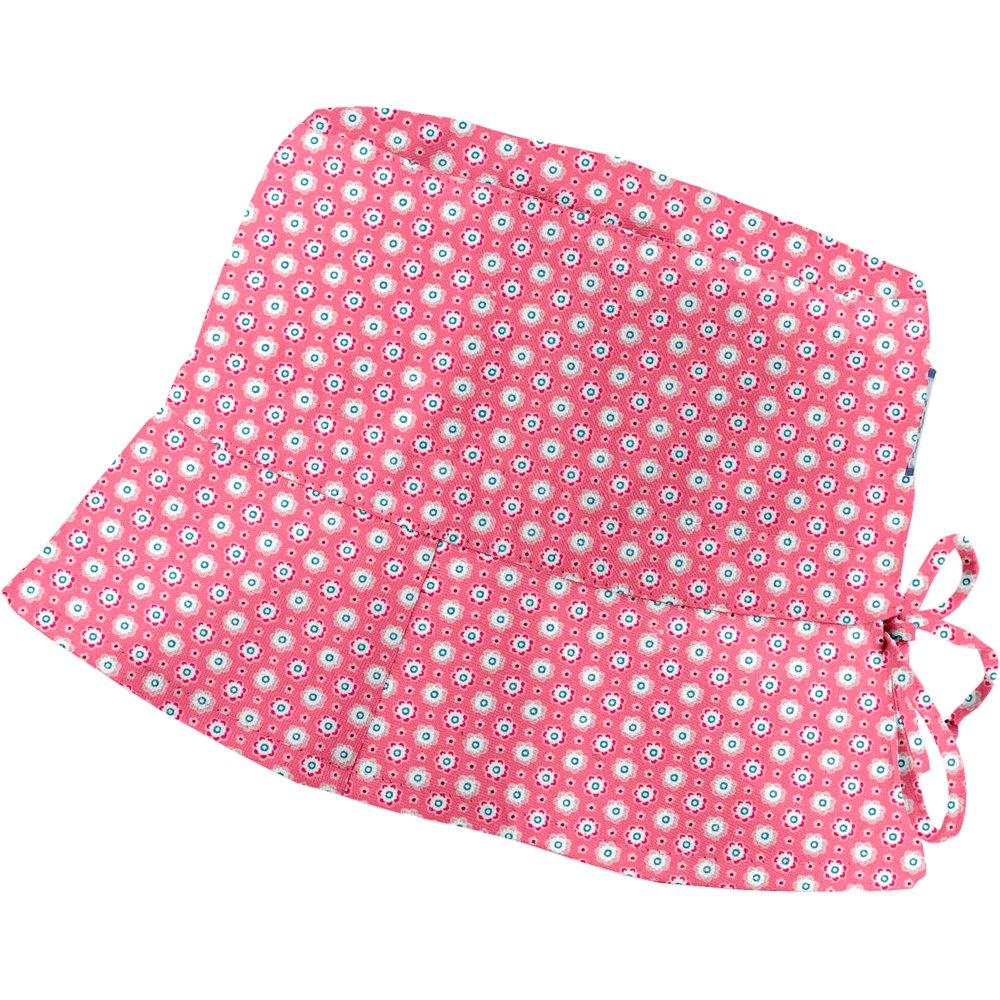 Chapeau de soleil ajustable T1 à T2  fleurette blush