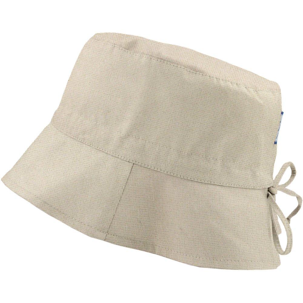 Chapeau de soleil ajustable T1 à T2 taupe argent