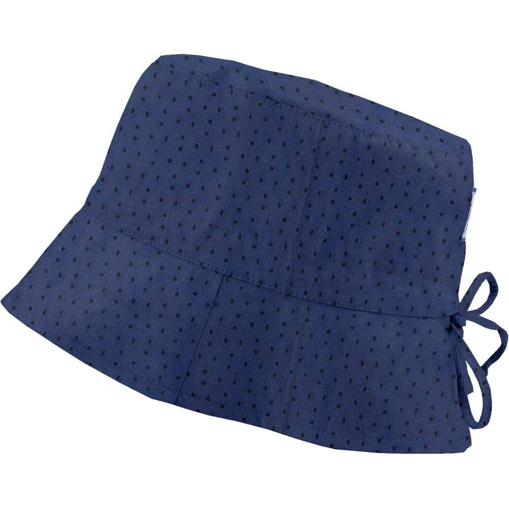 Sun hat adjustable-size T2 blue english embroidery