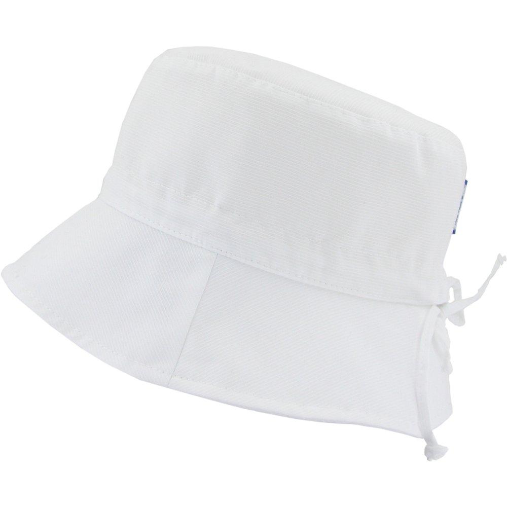 Chapeau de soleil ajustable T3 blanc