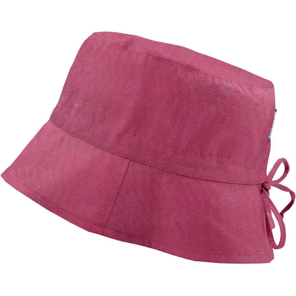 Chapeau de soleil ajustable T3 fuchsia argent