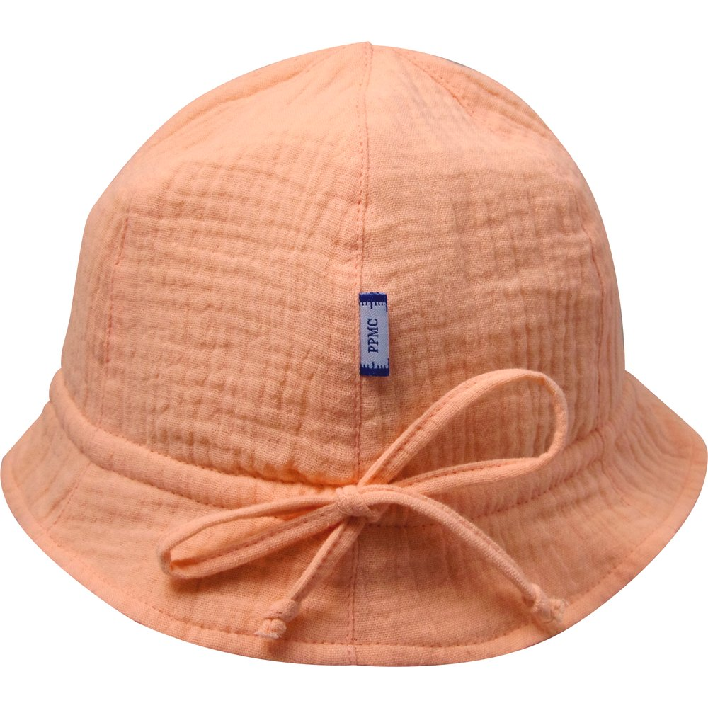 Sun Hat for baby gauze pink