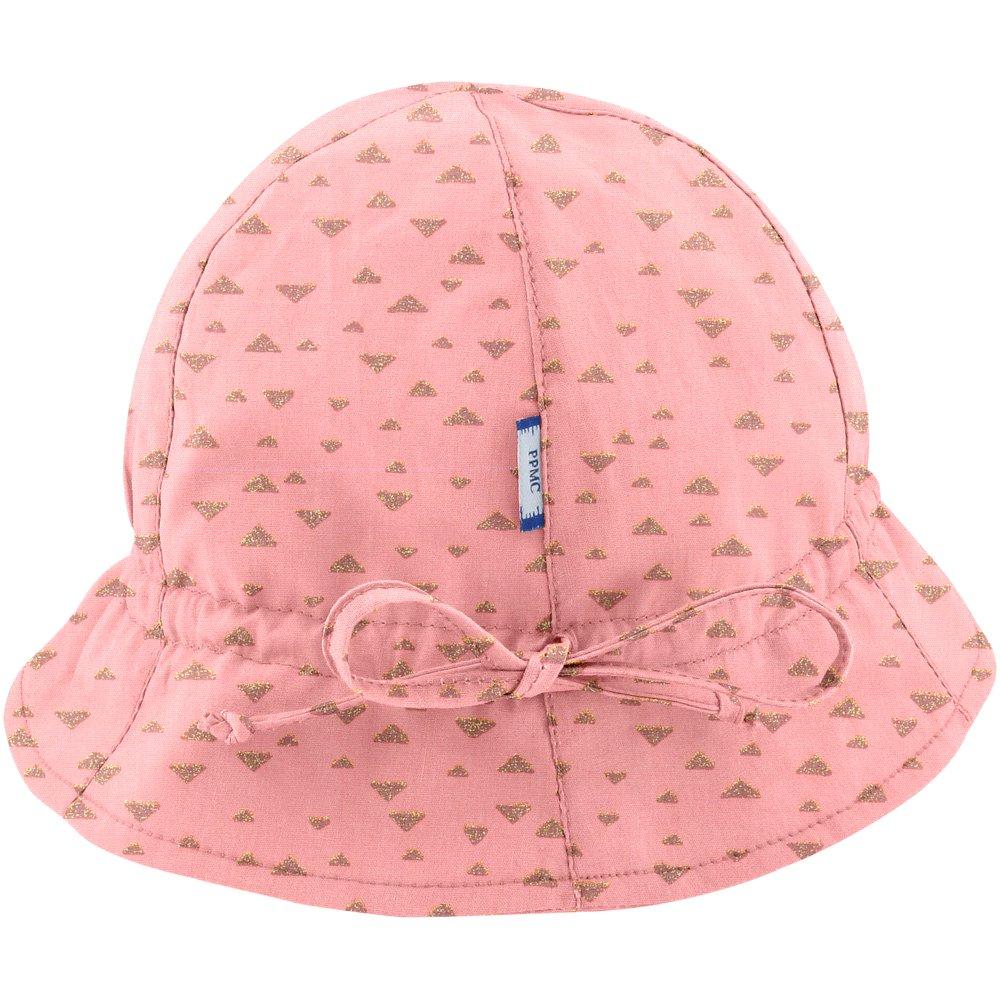 Chapeau soleil charlotte triangle or poudré