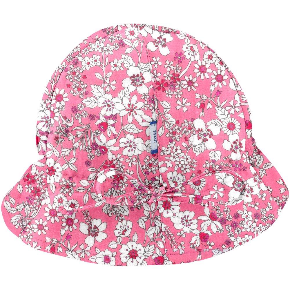 Chapeau soleil charlotte violette rose