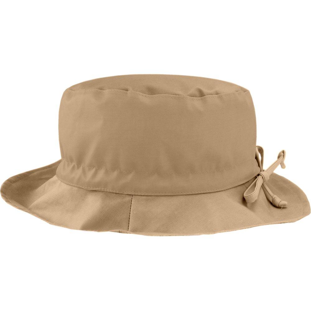 Rain hat adjustable-size 2  camel