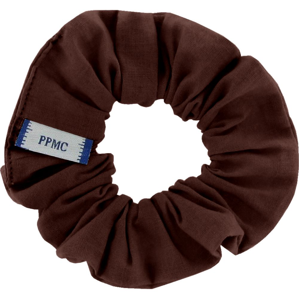 Small scrunchie brown