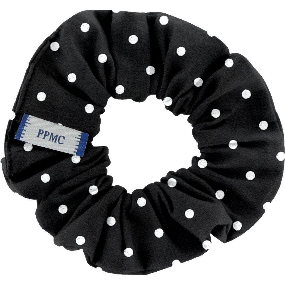 Small scrunchie black spots