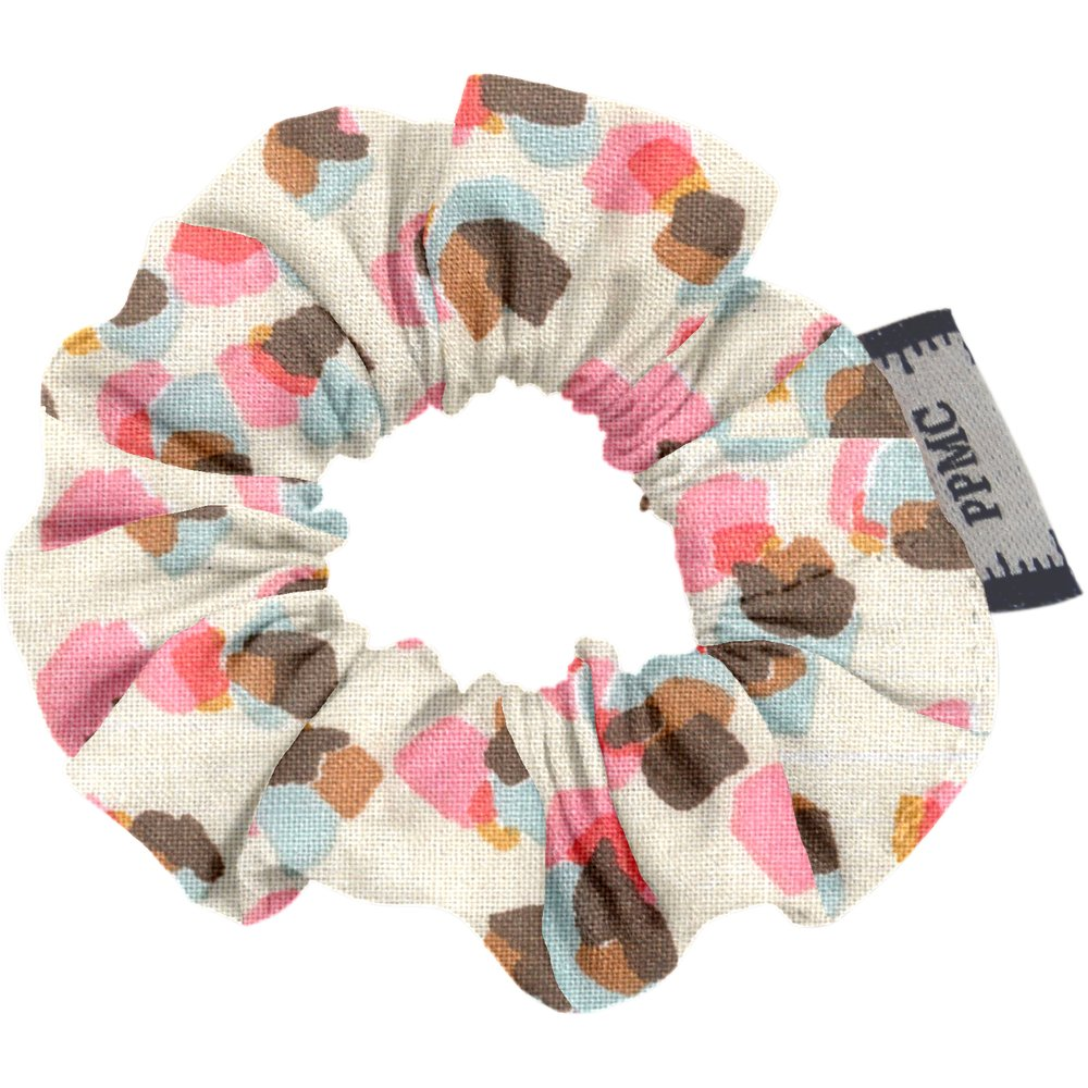 Mini Scrunchie confetti aqua