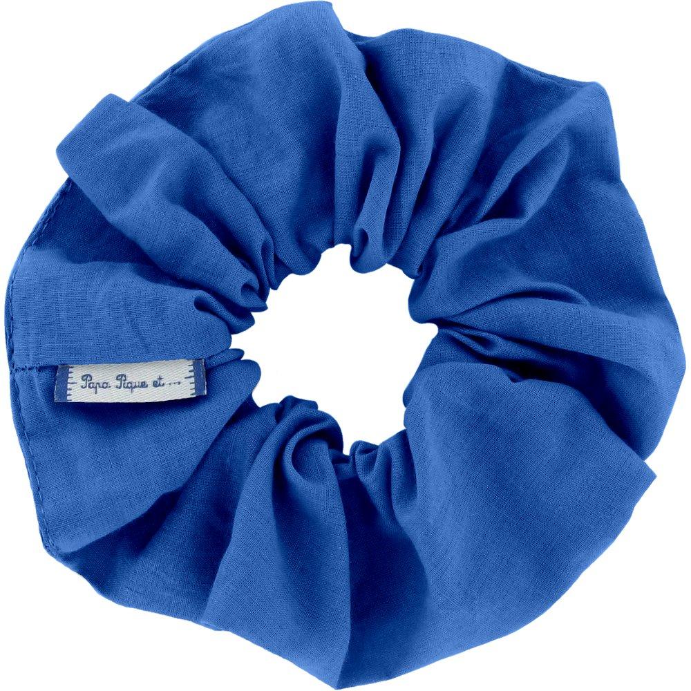 Chouchou bleu navy