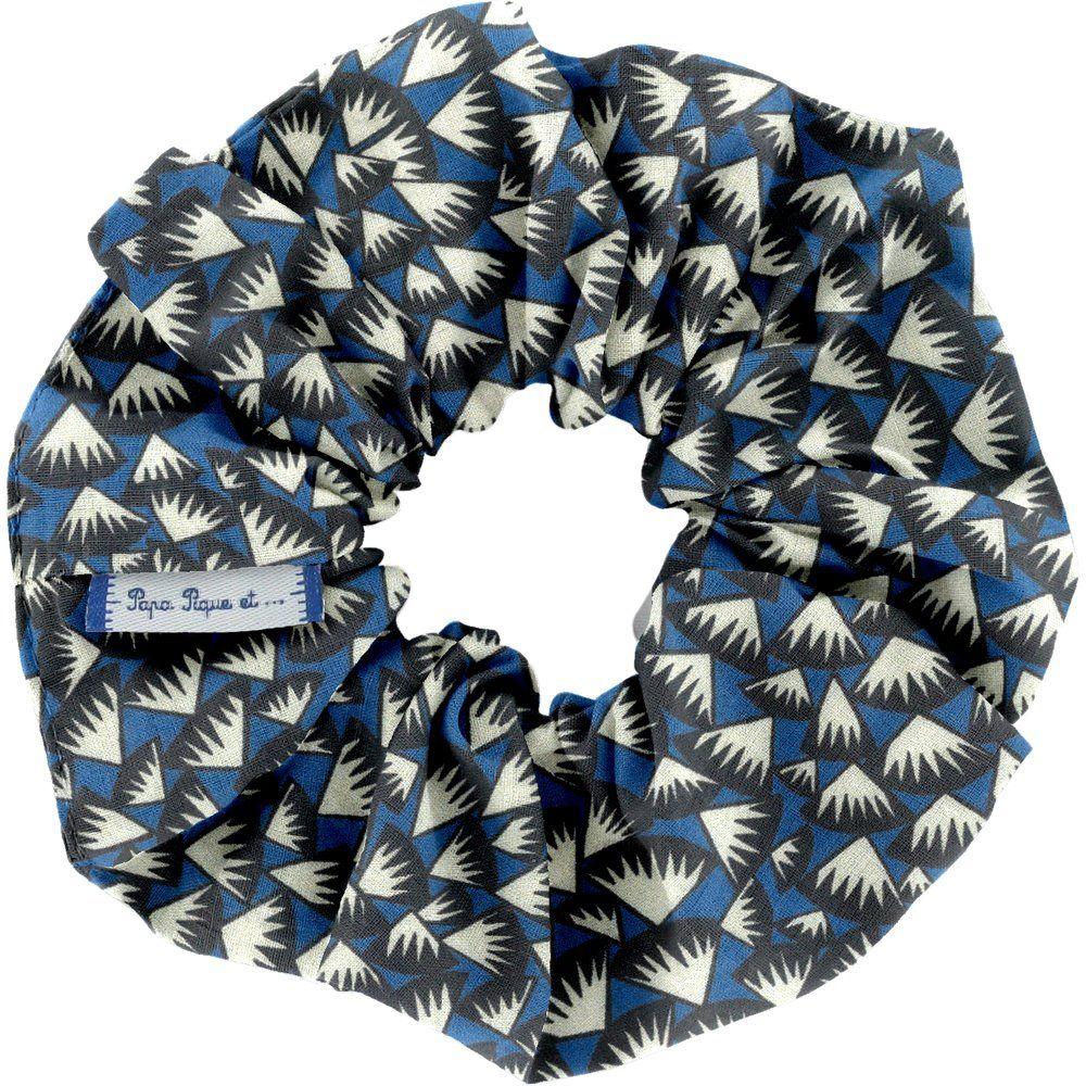 Scrunchie parts blue night